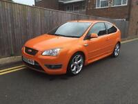 Ford Focus 2.5 SIV ST-2 3dr 2006 ONLY 65K ORANGE 3 DOOR