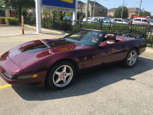 1993 40TH ANNIVERSARY EDITION CORVETTE CONVERTIBLE