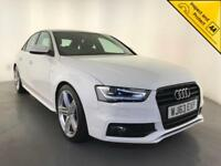 2013 AUDI A4 S LINE BLACK EDITION TDI DIESEL KEYLESS GO 1 OWNER SERVICE HISTORY