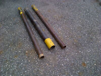 3 Post Pounders for fencing posts