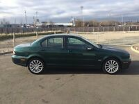 "JAGUAR X TYPE 2.2 DIESEL MANUAL S 2008 4 DOOR ""FACELIFT MODEL"" BRITISH RACING GREEN METALLIC 155BHP"