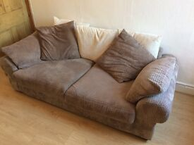 Fabric 3 seater sofa from SCS