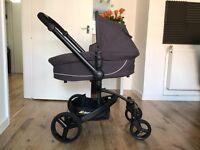Hauck Twister Travel System Baby Pram Pushchair Carseat