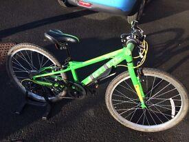 "Carrera Abyss Junior Hybrid Bike 24"""