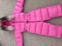 Moncler 'Crystal' snowsuit age 18-24 months