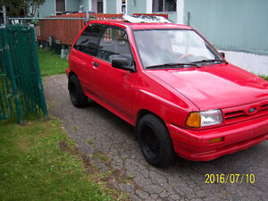 ford festiva    1.3 litres 4 cyl