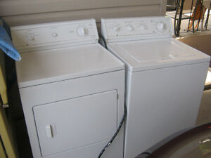 westinghouse washer & dryer $425