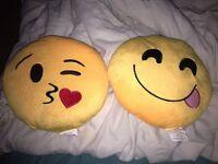 Emoji pillows!