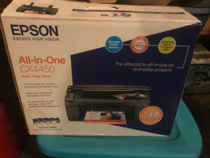 Epson cx4450 all in one printer