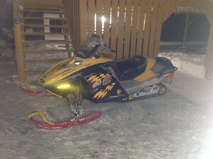 Scrapping 2005 mxz 800 renegade ski-doo & other revs709-597-5150