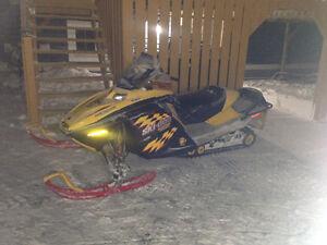Scrapping 2005 mxz 800 renegade ski-doo & other revs709-597-5150