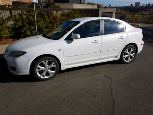 Immaculate Mazda 3 GT with winter rims/tires