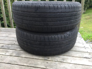 Two P235/60R17 Summer Tires