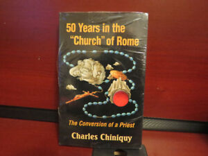 Fifty years in the Church of Rome:  paperback  NEW