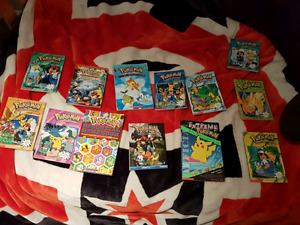 Pokemon chapter books (based on original anime series) and more