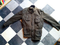 Barbour wax jacket size XXL
