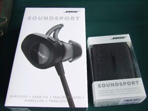 Bose Soundsport wireless headphones with charger brand new