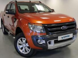 2014 Ford Ranger Pick Up Double Cab Wildtrak 3.2 TDCi 4WD Diesel orange Manual