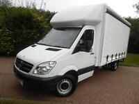 2013 Mercedes-Benz Sprinter 313 2.1 CDI ELWB HALF LUTON HALF CURTAINSIDE