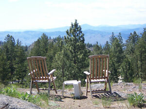 ****Osoyoos, B.C, Anarchist Mountain - VIEW acreage -REDUCED***