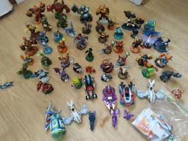 Skylanders game HUGE bundle of character figures portals and game