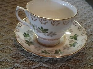 ROYAL STAFFORD AND COLCLOUGH TEA CUP AND SAUCER Windsor Region Ontario image 1