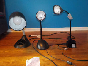 Lot of 3 Table/Desk Lamps PERFECT condition