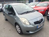 TOYOTA YARIS 1.3 VVTI T3 5 DOOR 2006 / 48K MILES / 1 OWNER / FULL SERVICE HISTORY / HPI CLEAR