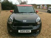2013 MINI COUNTRYMAN 1.6 JOHN COOPER WORKS JCW ALL4 SPORTS SUV 5 SEATER FMSH NAV