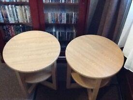 Oak Effect Table