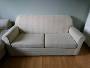 White Sofa Bed available