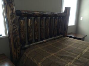hand crafted timber or log beds,locally based Comox / Courtenay / Cumberland Comox Valley Area image 9