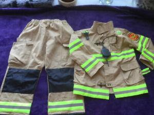 Boys  Firefighter Costume. New.