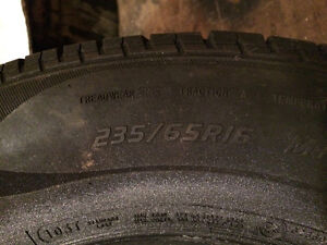 225/70r16 and 235/65r16