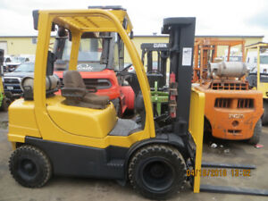 CERTIFIED 2007 HYSTER FORKLIFT 5000 LB CAPACITY