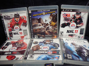 7 SONY PS3 GAMES