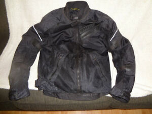 PRICE DROP Men's Small Shift Motor Cycle Jacket like new must c.