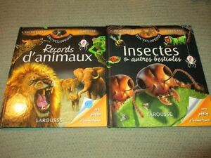 Records d'animaux / Insectes et autres bestioles /// Larousse