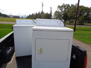 white westinghouse washer and dryer