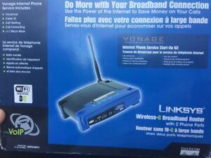 Wireless G broadband router