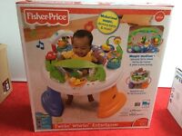 Fisher Price Twirlin' Whirlin' Entertainer bouncer swing
