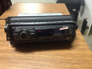 Sony car stereo/ with CD player $80