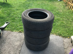 4 tires 235 65 r17 all season Continental Cross Contact