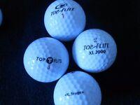 Top Flite Mixed Model Golf Balls X 100. Pearl Condition