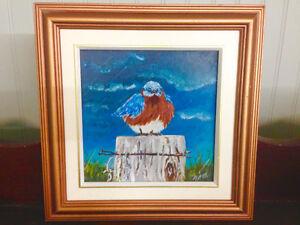 Oil Painting - Blue Bird Kingston Kingston Area image 3