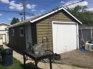 Single garage and RV/trailer pad for rent in Montgomery