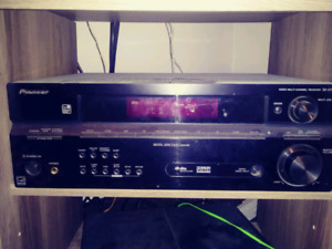 Surround sound system for sale.