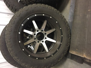 """Brand new fuel rims with 35""""rubber Strathcona County Edmonton Area image 1"""
