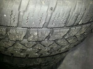 4x snow tires and rims 205/55/r16 Stratford Kitchener Area image 3