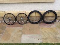 Alienation bmx wheels and odyssey aitken tyres